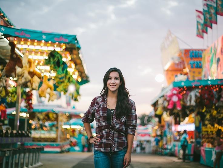 Senior Session at the fair by Christian Gideon Photography    www.christiangideonphotography.com
