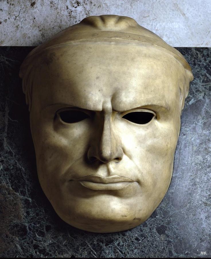 Benito Mussolini. 1923. Adolfo Wildt. Italian. 1868-1931. marble.  http://hadrian6.tumblr.com