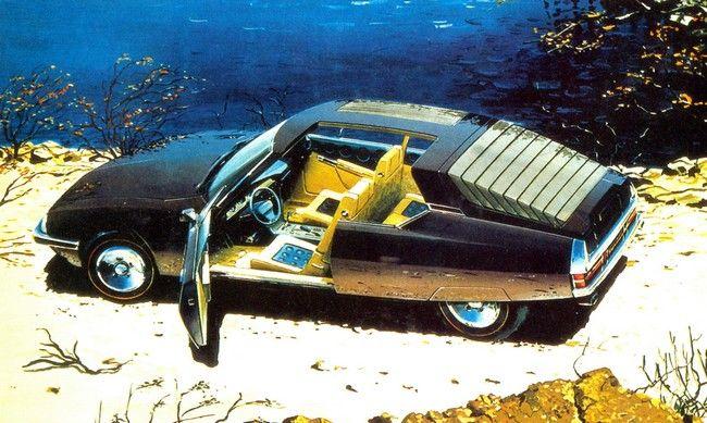 Citroën SM Heuliez 1971