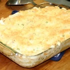 Rigatoni Chicken Casserole - use more soup/sour cream to make it creamier, otherwise it's wonderful!