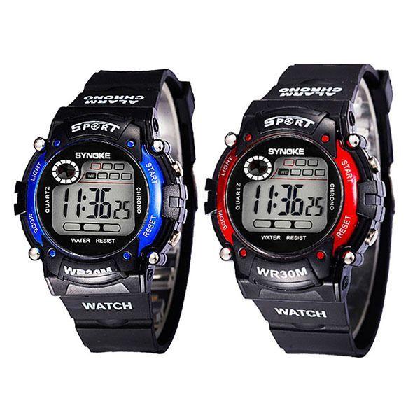 Kids Multifunctional Water Resistance Electronic Digital Sport Wrist Watch H45 #Zehui #Sport