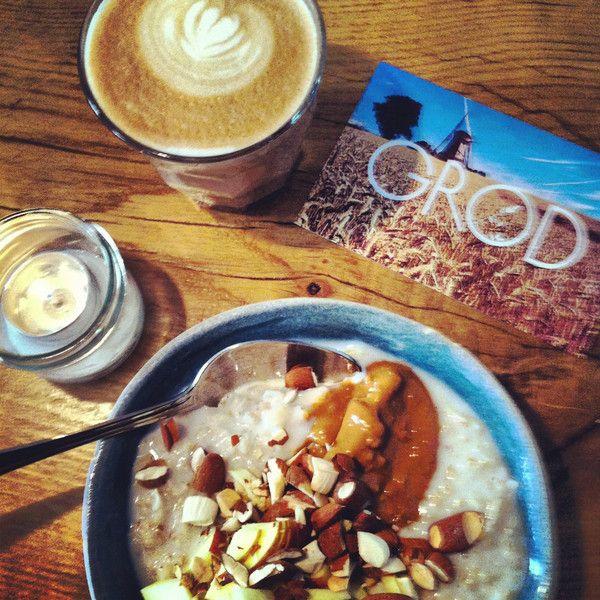 The porridge shop in #Copenhagen - #Grød. Perfect start to the day.  Blog | S K A N D I N A V I S K