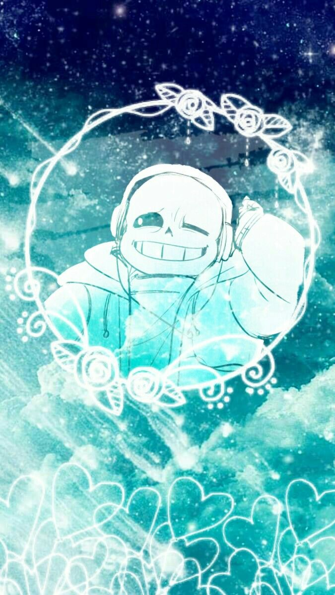 Did some editing with a sans fanart i found here :) Undertale, sans, edit, lockscreen, UT,