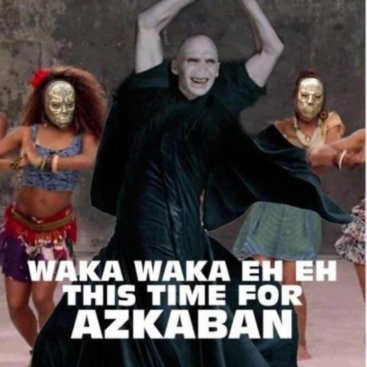 waka waka favorite song. Harry potter favorite movie. Together? Um no.