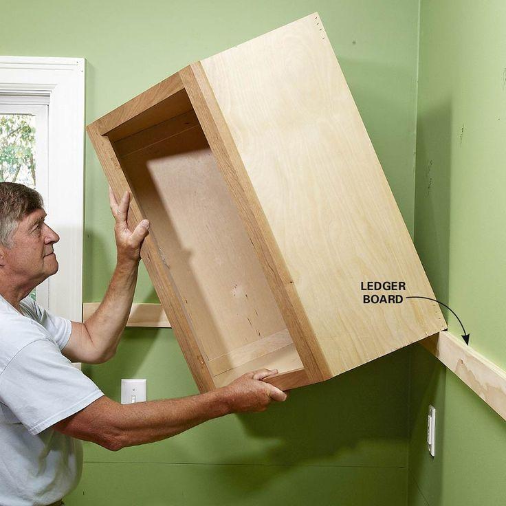How To Install Cabinets Like A Pro! R E P A I R R E M A K E R