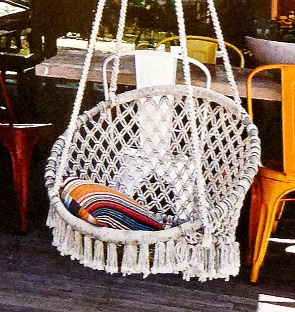 Wonderful Macrame Hammock Chair With Photos Of Macrame Hammock ...