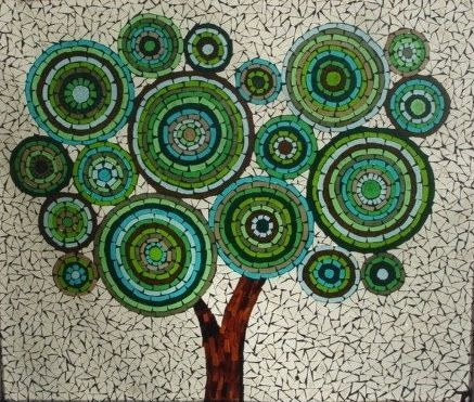 Teresa Hollmeyer mosaic tree