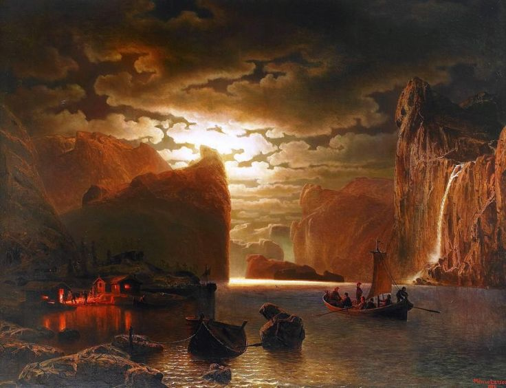 fishing-near-the-fjord-by-moonlight-1862.jpg (1002×768)