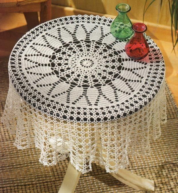 866 best Crochet♡Tablecloths images on Pinterest | Crochet doilies ...