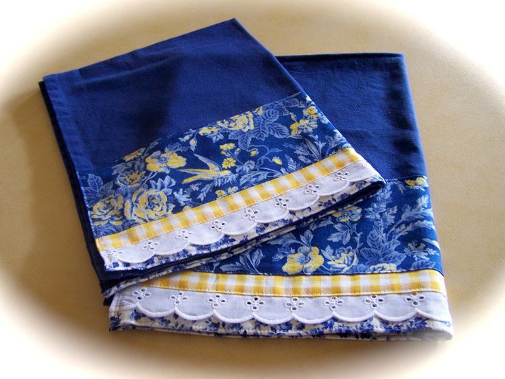 https://flic.kr/p/9jrR6z | Matching blue tea towels for the kitchen. | Decorative kitchen towels. A set of decorative tea towels makes a beautiful addition to any kitchen. Cath creates decorative towels.