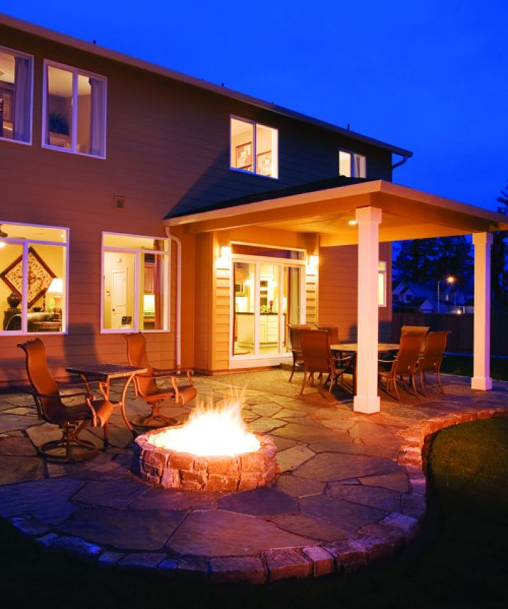 fire pits..... great for entertainment or just cozying up with a loved one