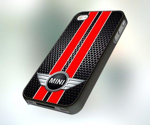 pcfa82 mini cooper black red design for iphone 4 or 4s. Black Bedroom Furniture Sets. Home Design Ideas
