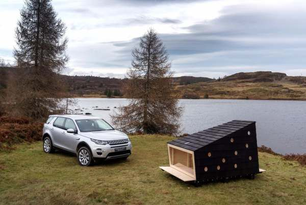 Land Rover Tiny Outdoor Cabin
