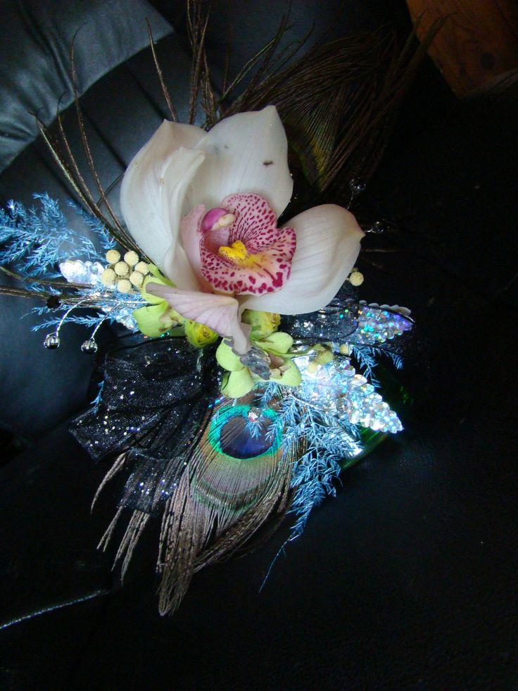 goth corsage