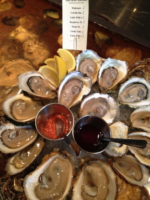 How to eat an oyster: A lesson in slurping from PEI by Amy Rosen. http://www.chatelaine.com/recipes/chatelainekitchen/oyster-slurping-101/