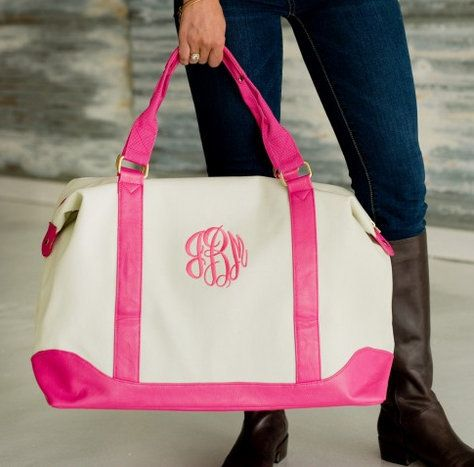 Embroidered Sullivan Weekender Tote - Mary's Monogram Shop