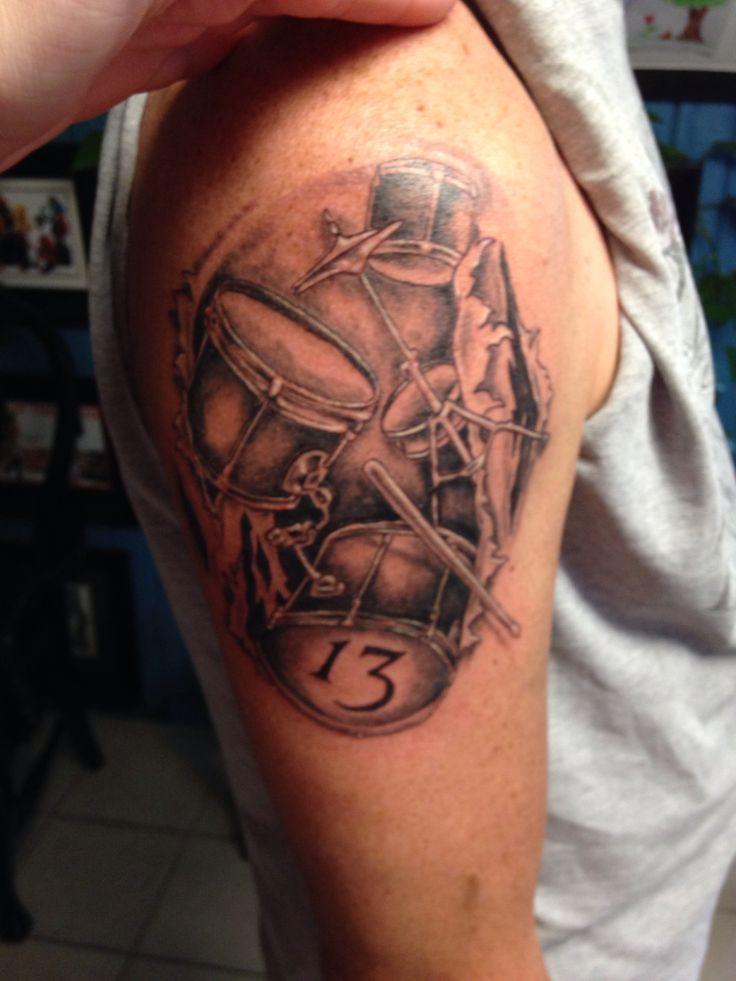 Drum Tattoo Tattoo Ideas Drum Tattoo Drummer Tattoo