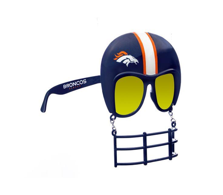 Denver Broncos Helmet Sunglasses
