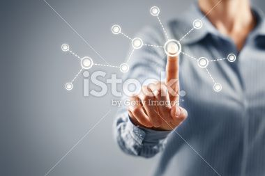 Affaires, Écran tactile, Symbole, Idées, Concepts Photo libre de droits
