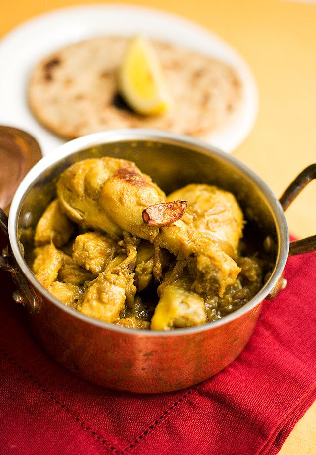 Indian Garlic Chicken | recipes | Pinterest