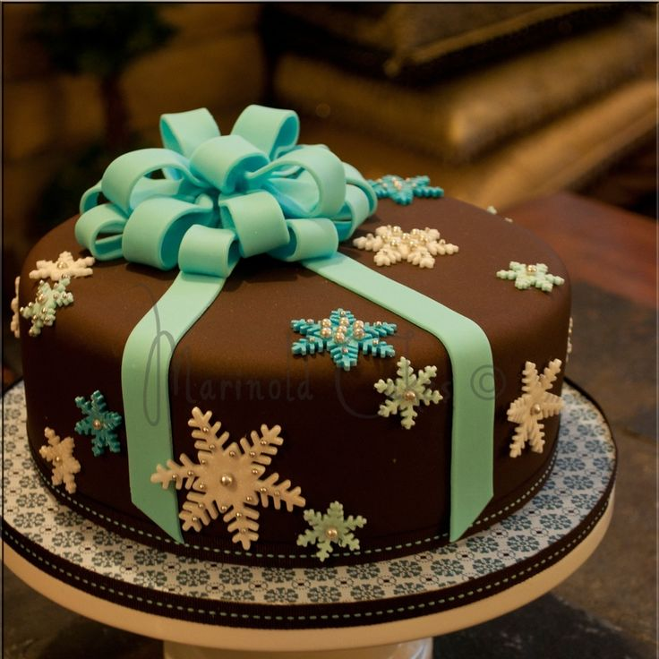 Christmas cake I would change the colors