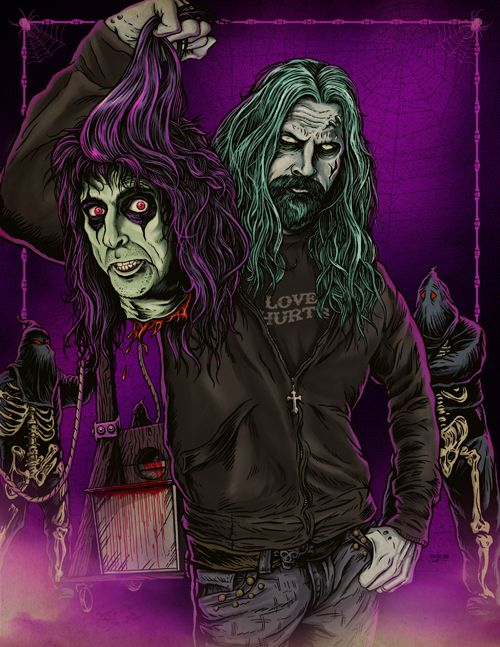 Zombie And The Coop by Ghoulish Gary Pullin