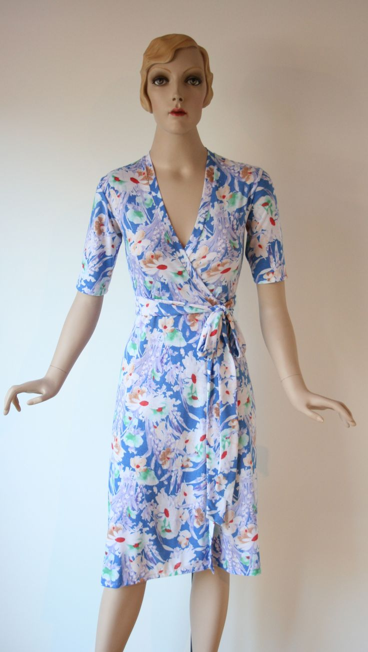 Blossom Wrap Dress