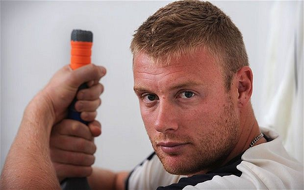 freddie flintoff,just because he makes me laugh