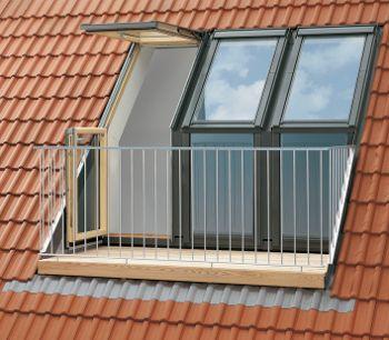 Roof Balcony! VELUX GEL SE0W323 Triple Terrace Package