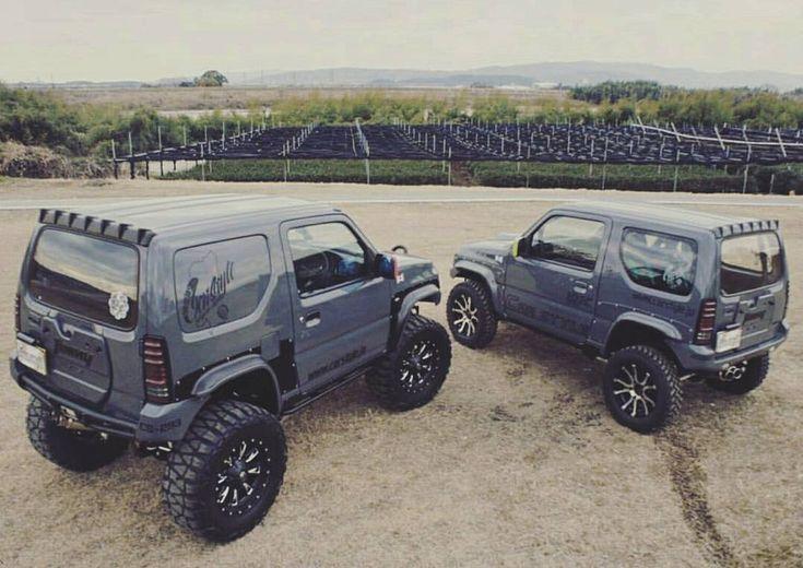 "457 Likes, 3 Comments - #JIMNYGRAMS (@jimnygrams) on Instagram: ""The Twins. 📷 : @carstyle293 #suzuki #jimny #jb23 #jimnygrams"""
