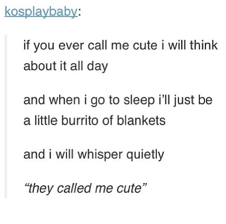 This is such a dorky thing I totally do :)