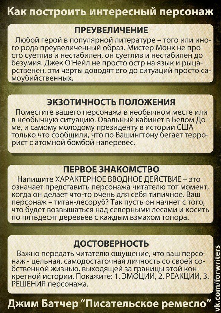 Джим Батчер «Писательское ремесло»