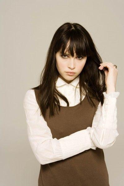 Felicity Jones - who looks a lot like Tobi