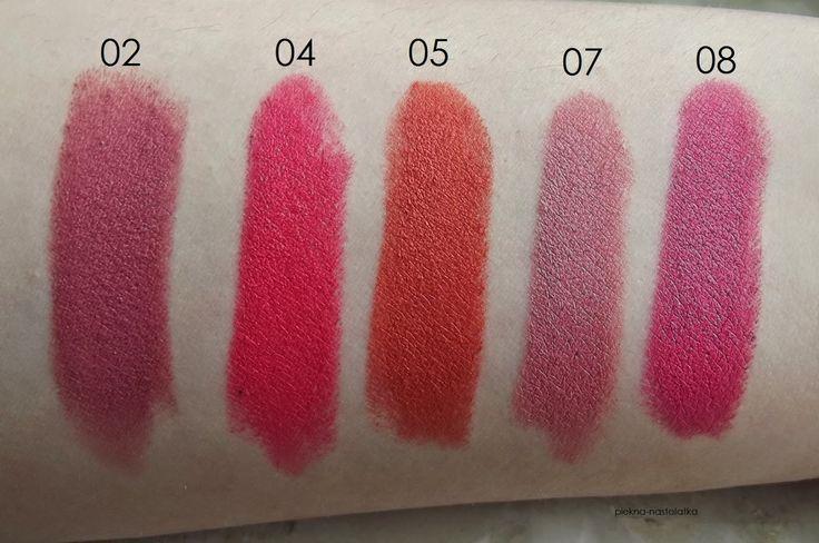 Golden Rose Velvet Matte Lipstick - swatche.