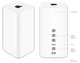 Apple Airport Extreme Wi-Fi Base Station Daily Tech Find