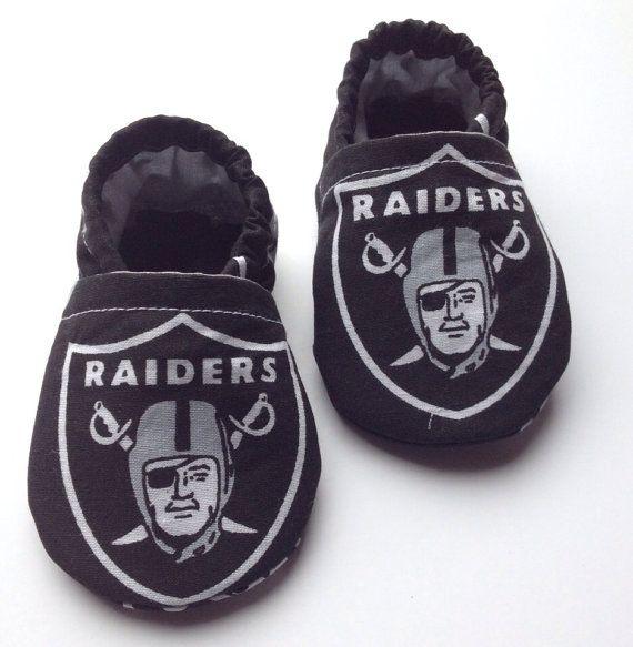 Oakland Raiders Baby Booties