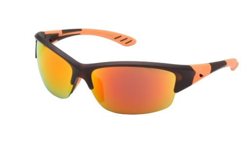 Go for the most distinctive, professional statement when choosing your high performance sunglasses from the #Erroca Sports Collection. These fashionable men's sunglasses are combined plastic and rubber frames and one of the most popular designs for extreme sports, both for their incredible look and high quality features. The polycarbonate lenses come in metallic orange or metallic blue and the rubber temple tips and rubberized nose pads provide excellent grip for all day comfort and…