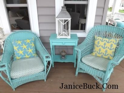 beachhouse Here is a tour of my beach house that I furnished with finds from my online store - Vintage American Home