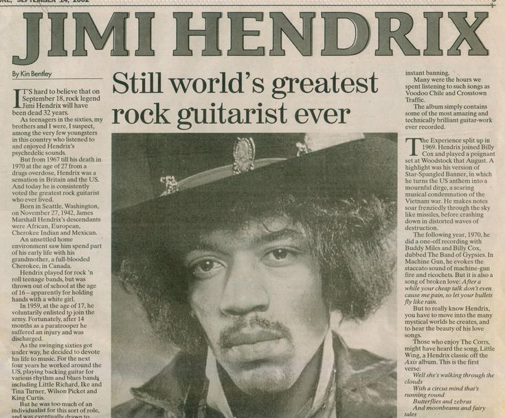 Jimi Hendrix Death | Jimi Hendrix Death Newspaper Capitalism, jimi hendrix