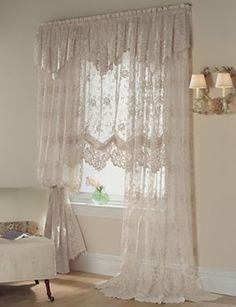 Shari Lace Curtain Valance Balloon Google Search