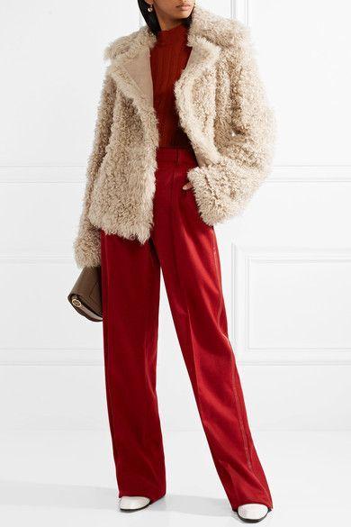 Theory | Shearling coat | NET-A-PORTER.COM