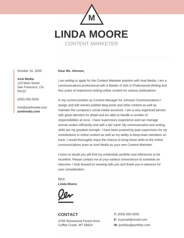 A cover letter template learn the truth about a cover