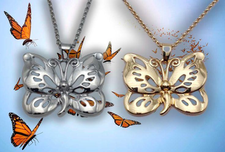 Semicolon Butterfly Necklace – Semicolon Movement