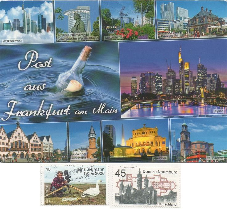 DEU-16440 - Arrived: 2017.06.29   ---   Frankfurt am Main is a metropolis and the largest city in the German state of Hesse and the fifth-largest city in Germany. Frankfurt is an alpha world city and a global hub for commerce, culture, education, tourism and transportation. It's the site of many global and European corporate headquarters.