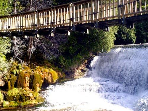 Belfountain Bridge and Waterfall by sean4360