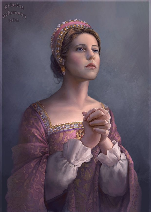 Lady Jane Grey...really beautiful and lifelike depiction.