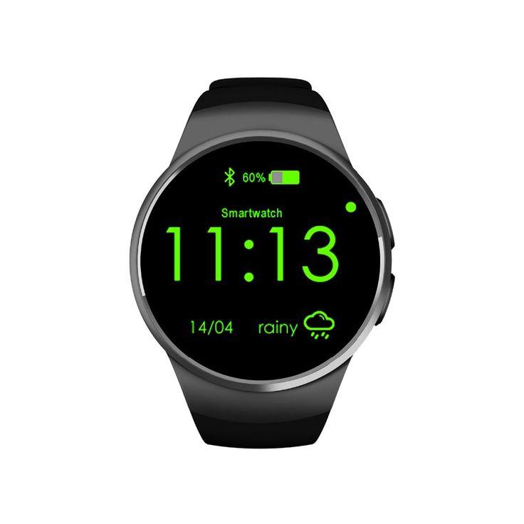PARAGON Voll runde Smartwatch KW92 pulsuhr Am Handgelenk band russisch Arabisch indien sim-karte bluetooth Smart uhr U8 MOTO 360 //Price: $US $55.98 & FREE Shipping //     #clknetwork