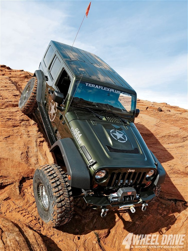 2007 Jeep Wrangler JK Unlimited Right Front Angle