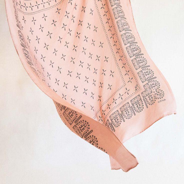 Washed Silk Bandana / Ozma