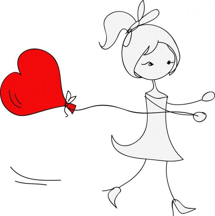 Feelings love, romance for Valentines Day I